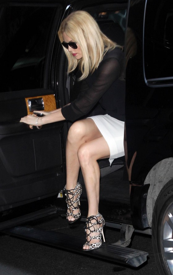 Charlize Theron - Hot Candids in a Tight skirt and high heels in NYC