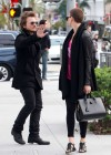 Charlize Theron - tights Candids out in Beverly Hills-24