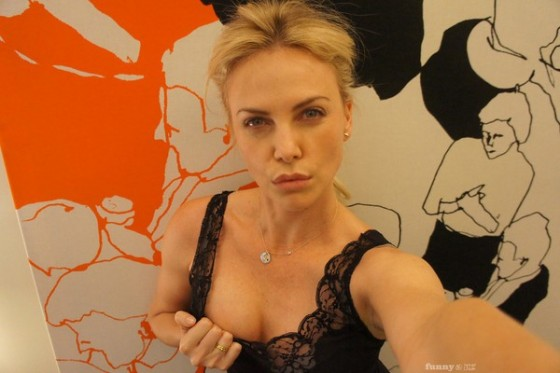 Charlize Theron Leaked Cellphone Pics