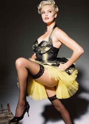Charlize Theron by Nino Via Photoshoot