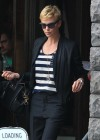 Charlize Theron out for lunch -08