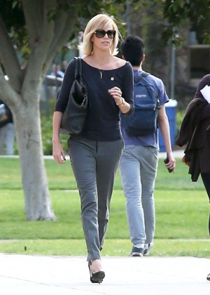 Charlize Theron out in Los Angeles