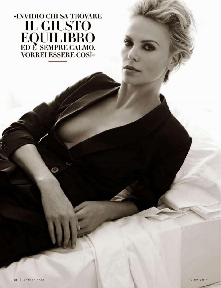 Charlize Theron - Vanity Fair Italy Magazine (September 2014)