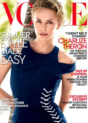 Charlize Theron: Vogue US 2014 -01