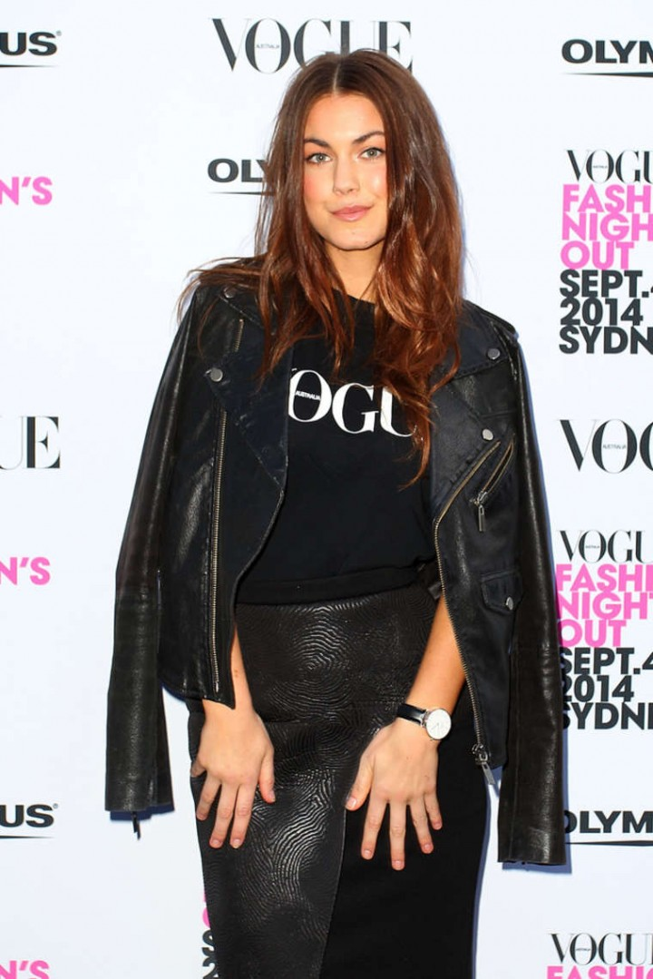 Charlotte Best - Fashion's Night Out Launch 2014 at Hyde Park in Sydney