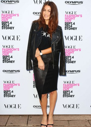 Charlotte Best - Fashion's Night Out Launch 2014 at Hyde Park in ...
