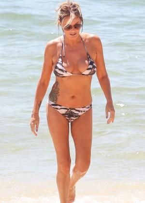 Charlotte Dawson Bikini Photos: 2014 in Tenerife -04