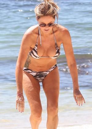 Charlotte Dawson Bikini Photos: 2014 in Tenerife -05