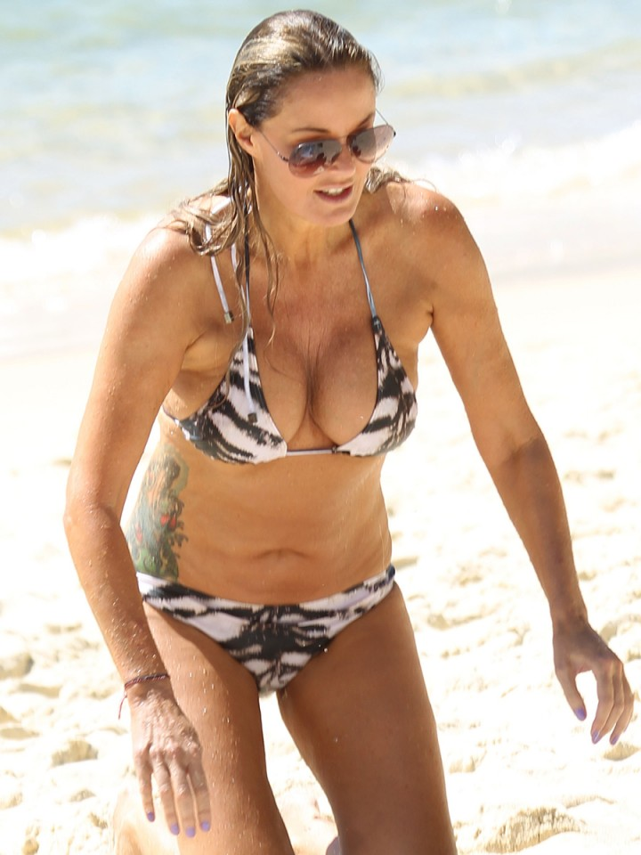 Charlotte Dawson Bikini Photos 2014 In Tenerife 07 Gotceleb
