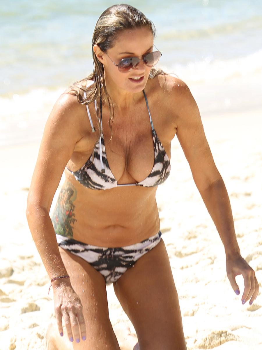 Charlotte Dawson Bikini Photos 2014 In Tenerife 07