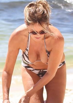 Charlotte Dawson Bikini Photos: 2014 in Tenerife -08