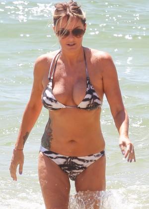 Charlotte Dawson Bikini Photos: 2014 in Tenerife -09