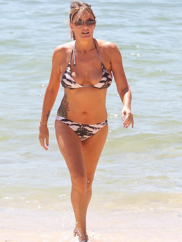 Charlotte Dawson Bikini Photos: 2014 in Tenerife -10