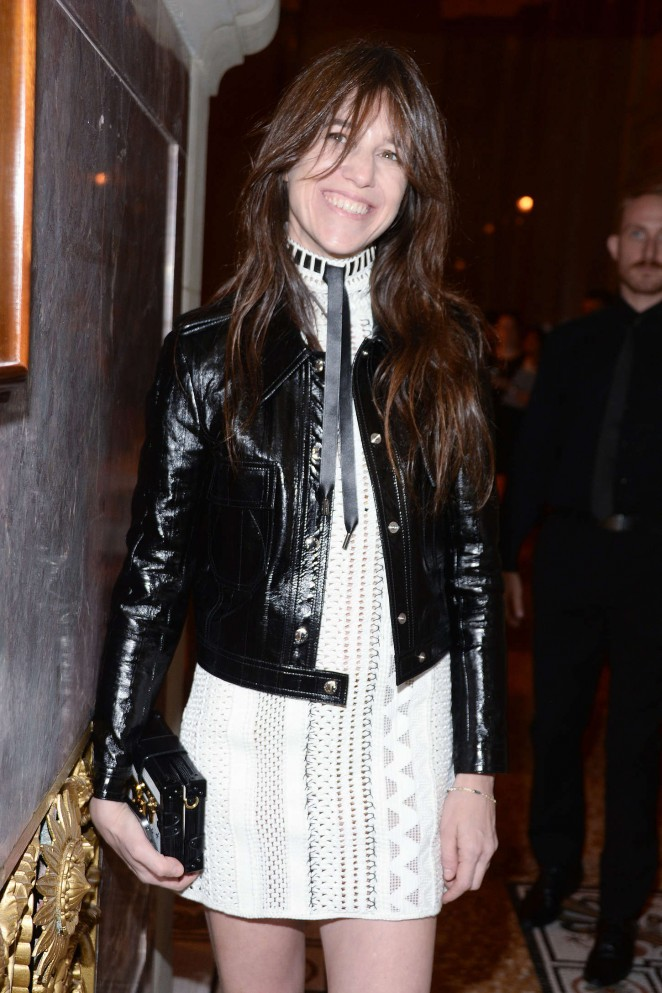 Charlotte Gainsbourg - Celebrating the Renaissance Women of PERFORMA in New York