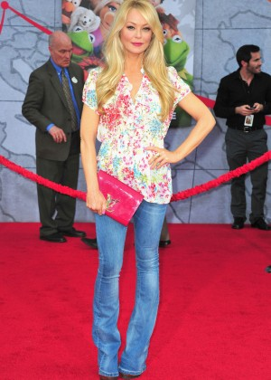 Charlotte Ross: Muppets Most Wanted Premiere -02