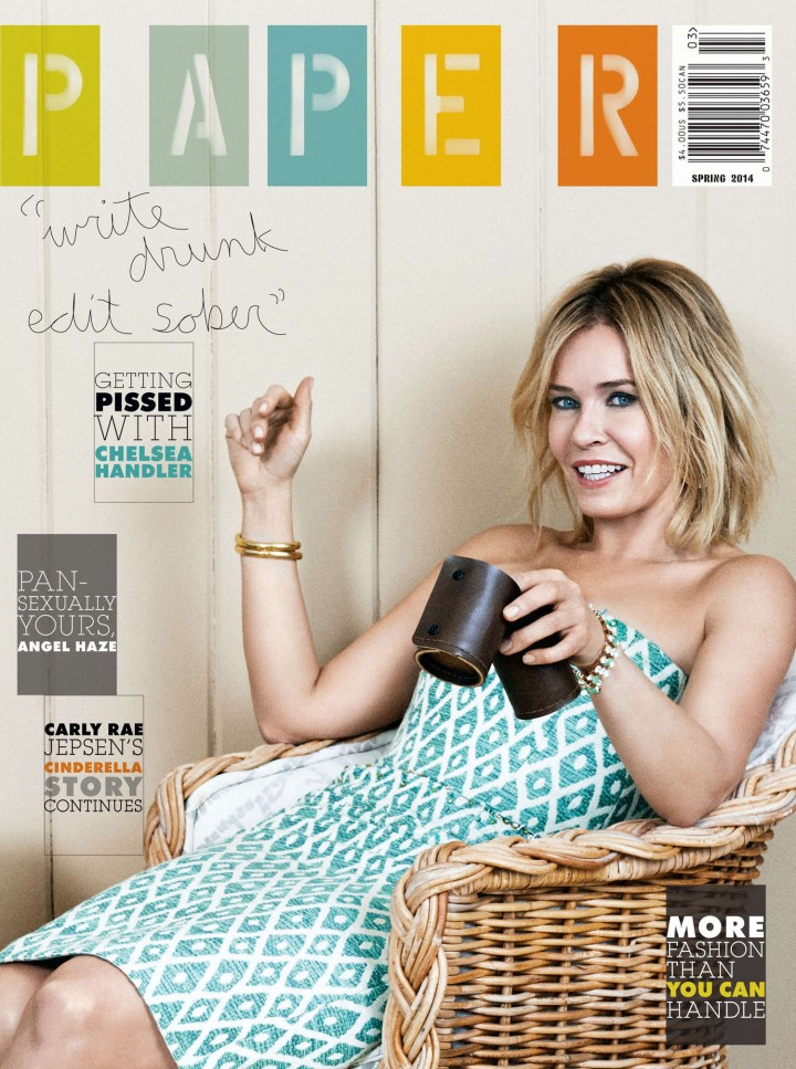 Chelsea Handler: Paper Magazine -03