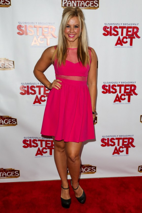 "Chelsie Hightower – ""Sister Act"" opening night premiere"