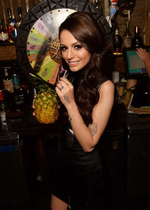 Cher Lloyd - 21st Birthday Celebration at Mahiki in London