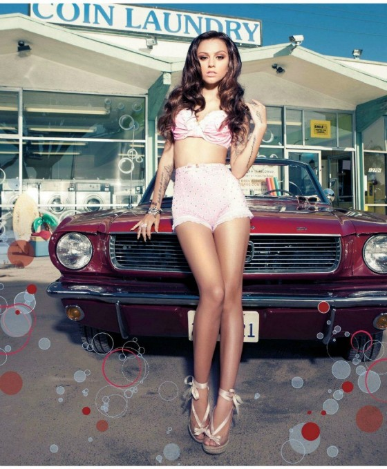 Cher Lloyd – Inked Magazine 2013 -05