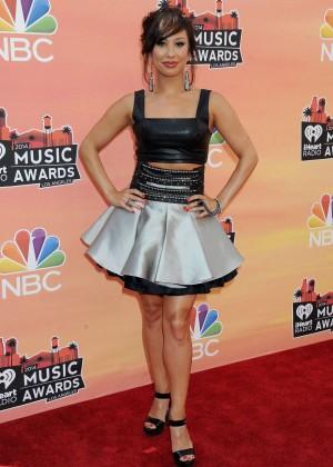 Cheryl Burke - 2014 iHeartRadio Music Awards -01