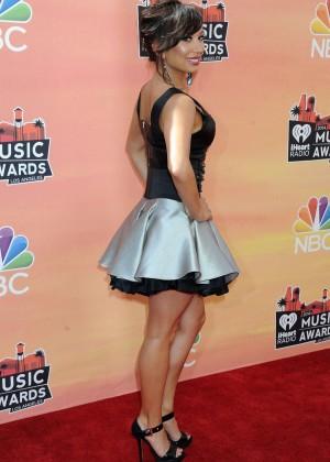 Cheryl Burke - 2014 iHeartRadio Music Awards -02