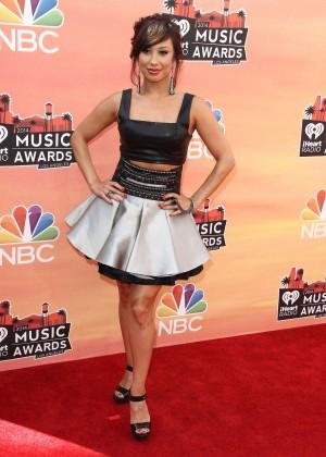 Cheryl Burke - 2014 iHeartRadio Music Awards -05