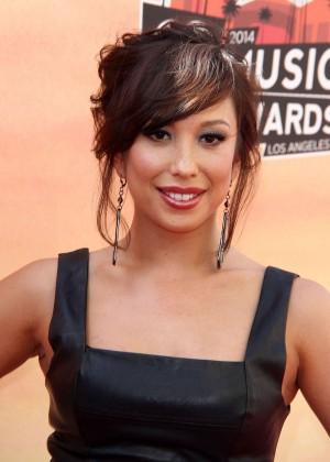 Cheryl Burke - 2014 iHeartRadio Music Awards -07