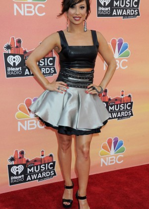 Cheryl Burke - 2014 iHeartRadio Music Awards -09