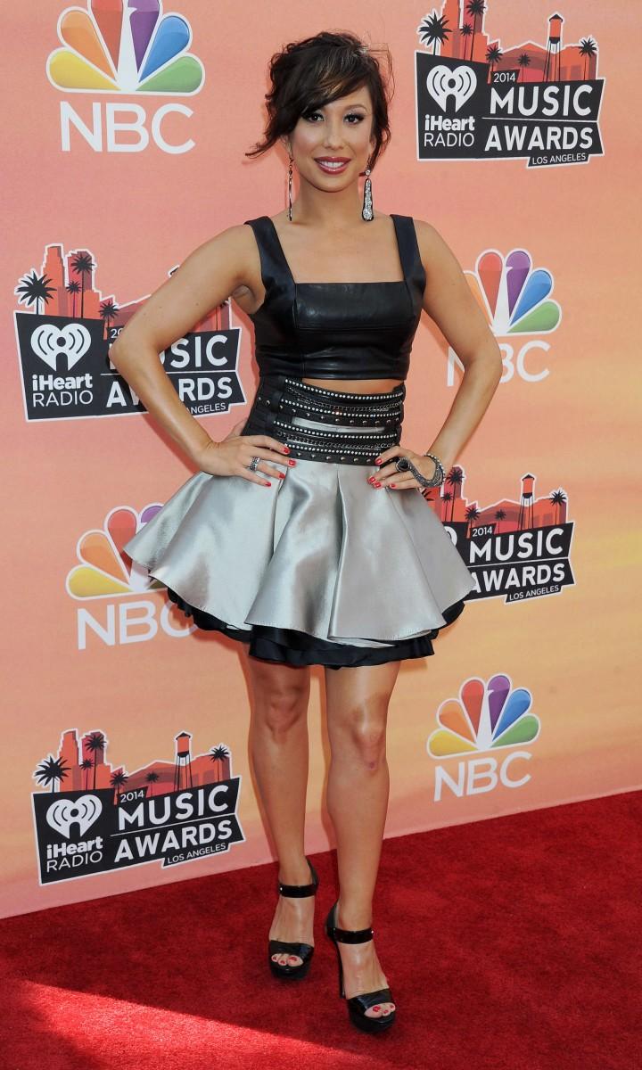 Cheryl Burke – 2014 iHeartRadio Music Awards
