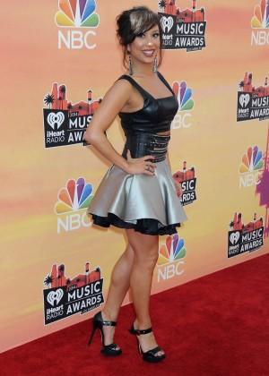 Cheryl Burke - 2014 iHeartRadio Music Awards -10