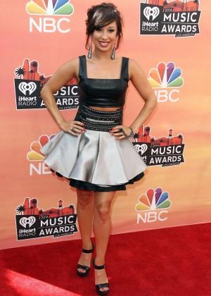 Cheryl Burke - 2014 iHeartRadio Music Awards -11