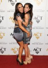 Cheryl Burke And Kelly Monaco at The Act New Year's Eve party in Las Vegas