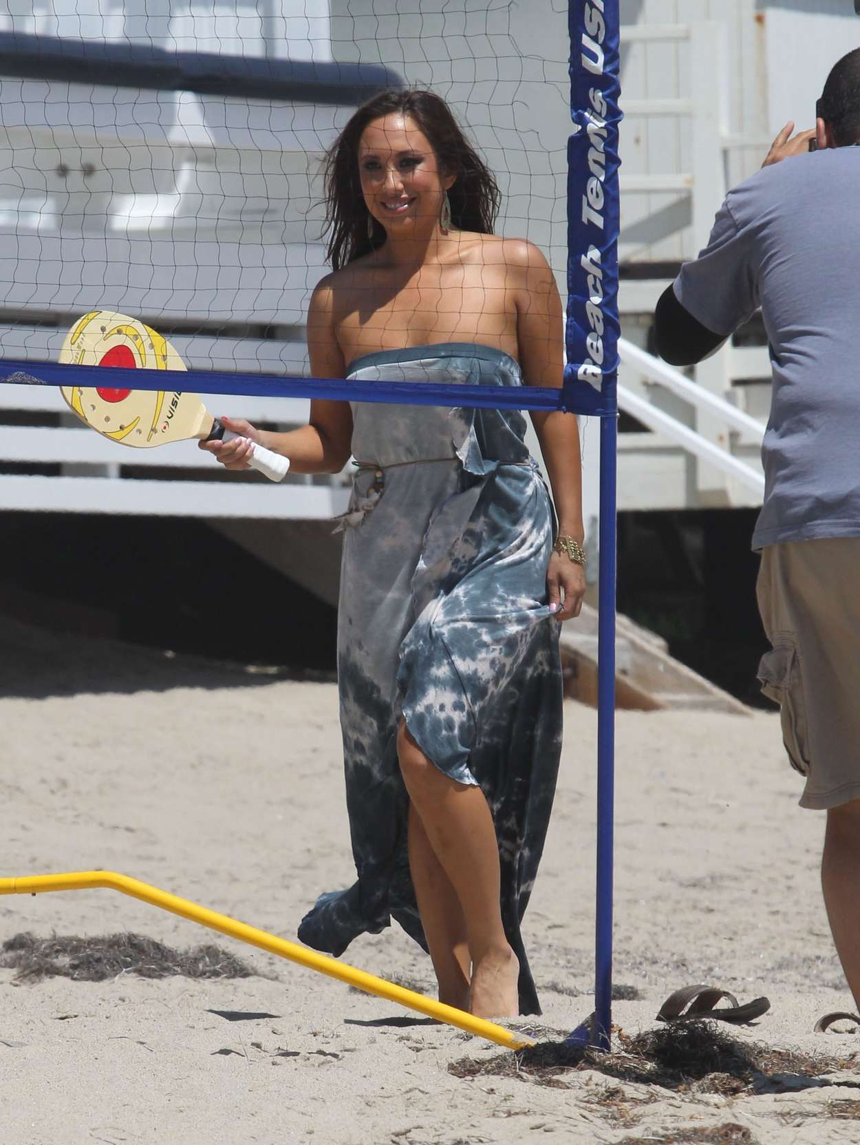 Cheryl Burke 2012 : cheryl-burke-kelly-monaco-kym-johnson-at-a-beach-party-in-malibu-21
