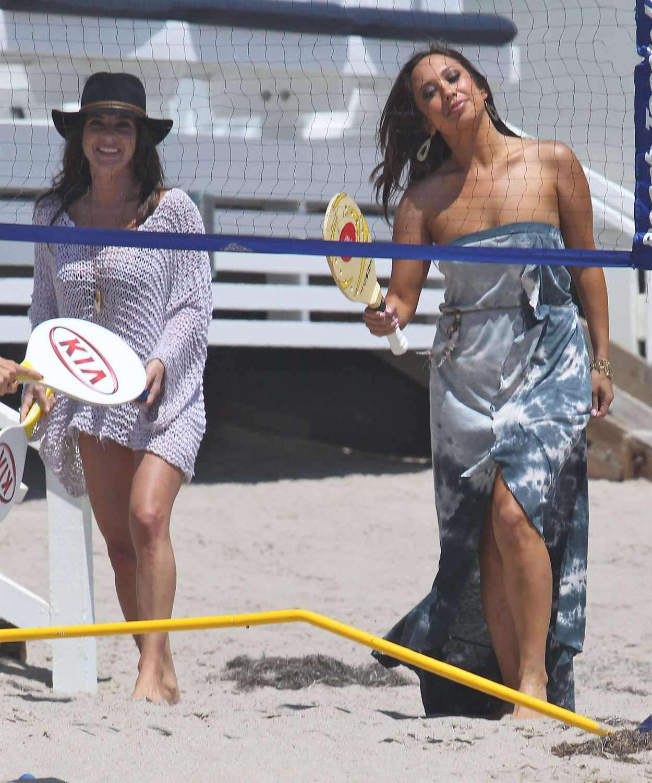 Cheryl Burke 2012 : cheryl-burke-kelly-monaco-kym-johnson-at-a-beach-party-in-malibu-31