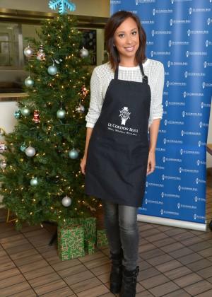 Cheryl Burke - Le Cordon Bleu College of Culinary Arts in LA