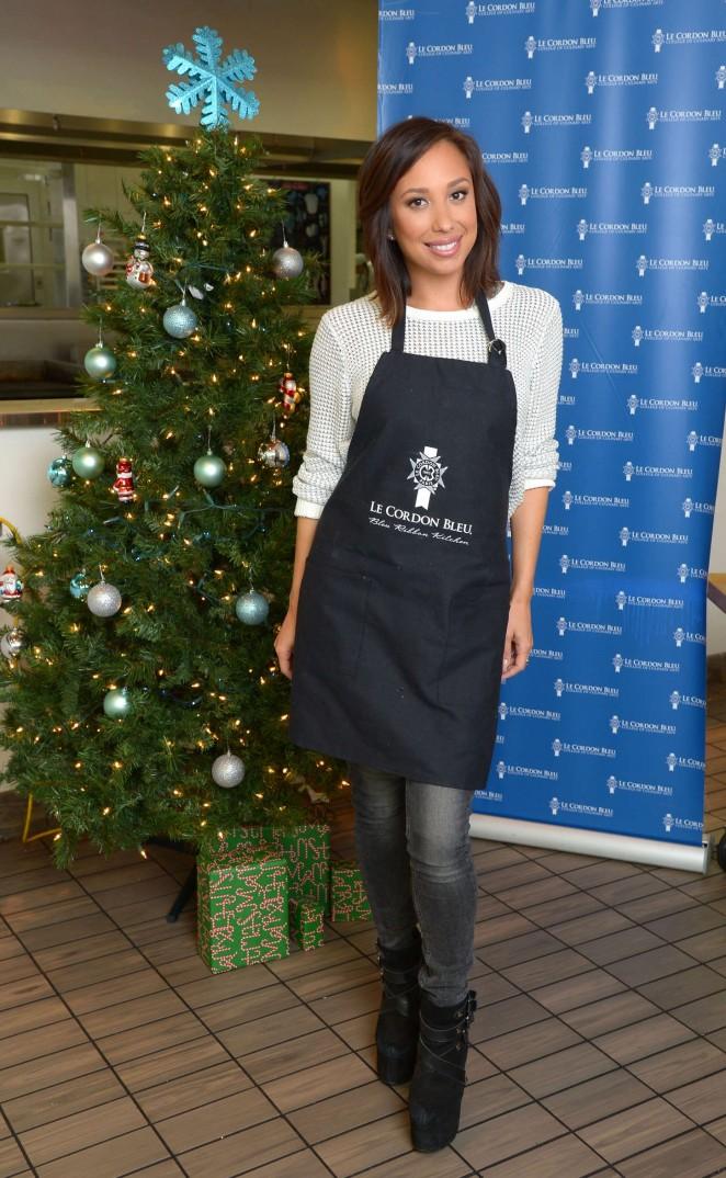 Cheryl Burke – Le Cordon Bleu College of Culinary Arts in LA