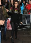 Cheryl Cole at BBC Maida Vale studios -14