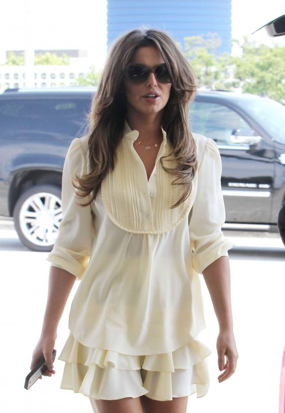 Cheryl Cole at LAX Airport
