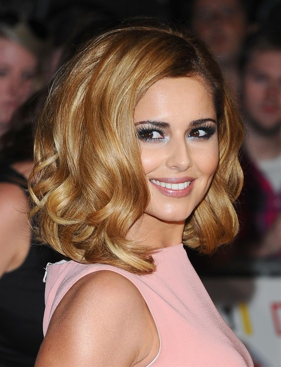 Cheryl Cole at Pride of Britain Awards in London