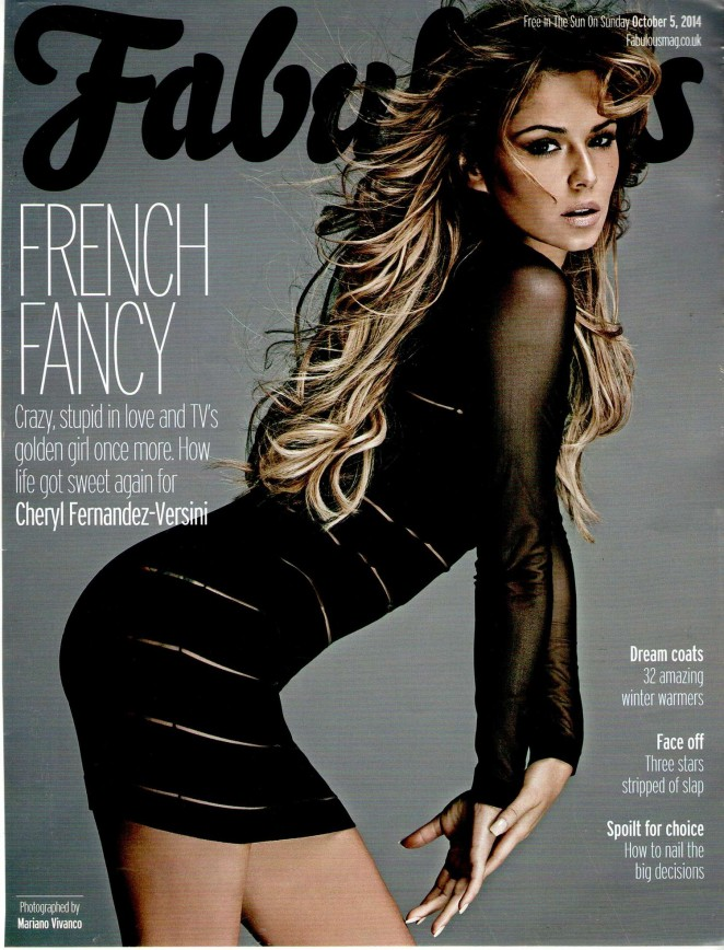 Cheryl Cole - Fabulous Magazine (October 2014)