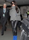 Cheryl Cole In Black Leather Pants -09