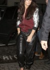 Cheryl Cole - In Leather pants at the Rose Club in London