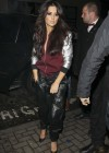 Cheryl Cole - In Leather pants at the Rose Club -10