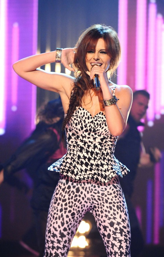 Cheryl Cole Performs on The Graham Norton Show