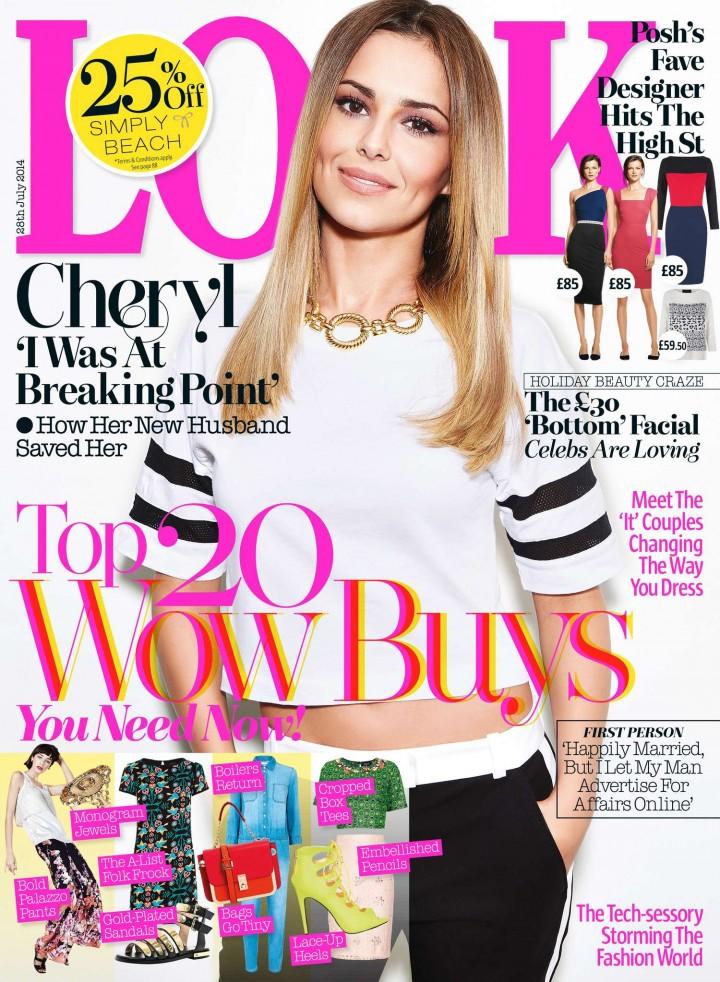 Cheryl Cole - Look UK Magazine (July 2014)