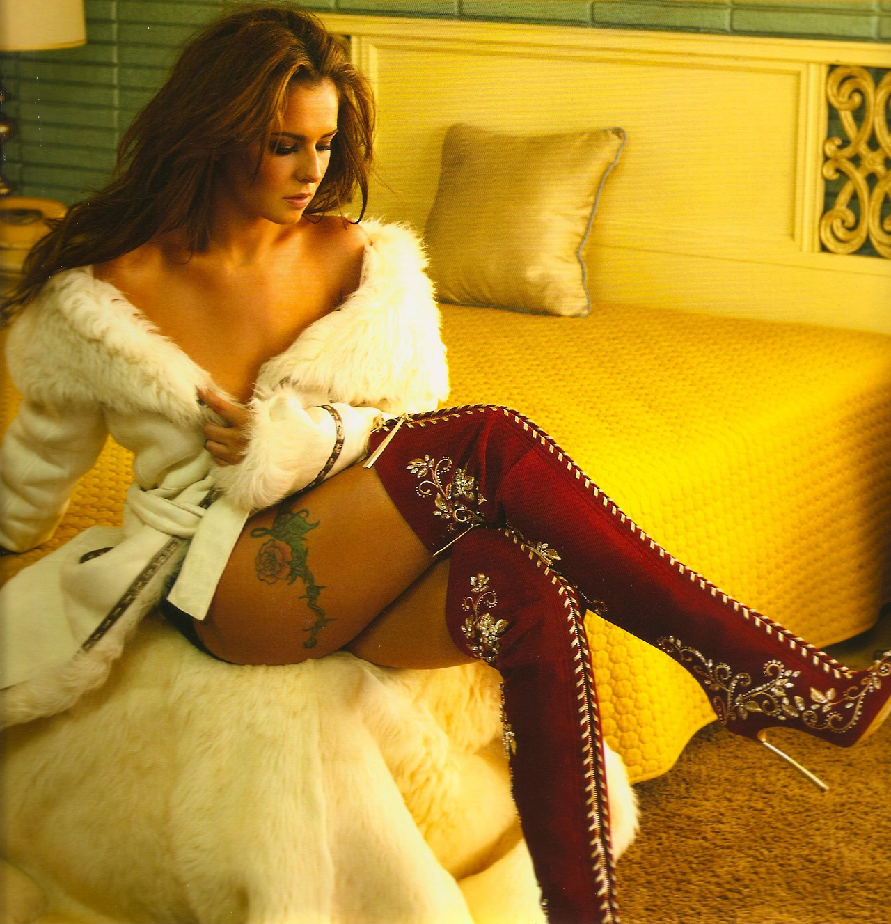 Cheryl cole's sultry new calendar shoot is her sexiest yet
