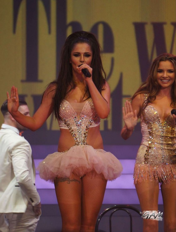 Cheryl Cole – performing with Girls Aloud in Newcastle -07