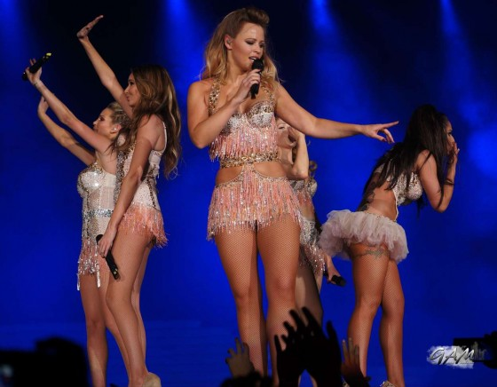 Cheryl Cole – performing with Girls Aloud in Newcastle -16