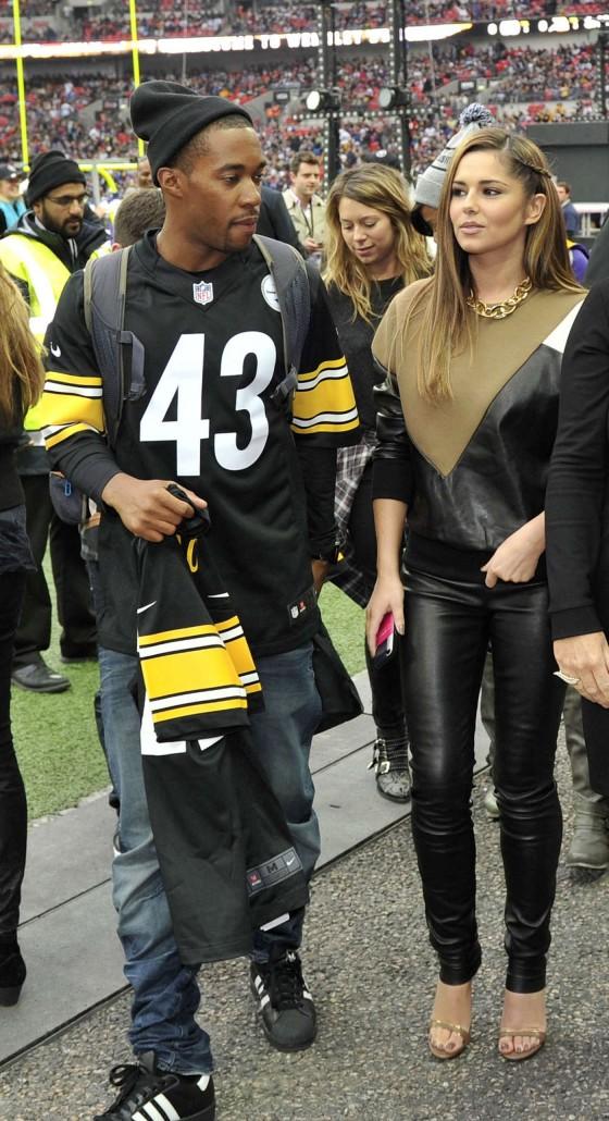 Cheryl Cole – Vikings vs Steelers in London