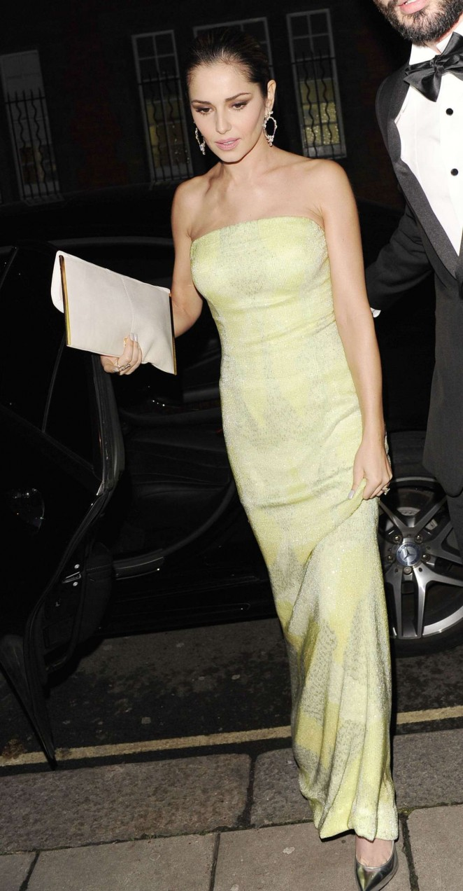 Cheryl Fernandez-Versini at Katie Piper Foundation Ball in London